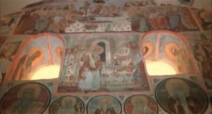 Стенописи в църквата Свети Никола
